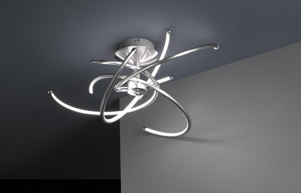 Plafoniere Moderne Cu Led : Plafoniera led w polydor r trio