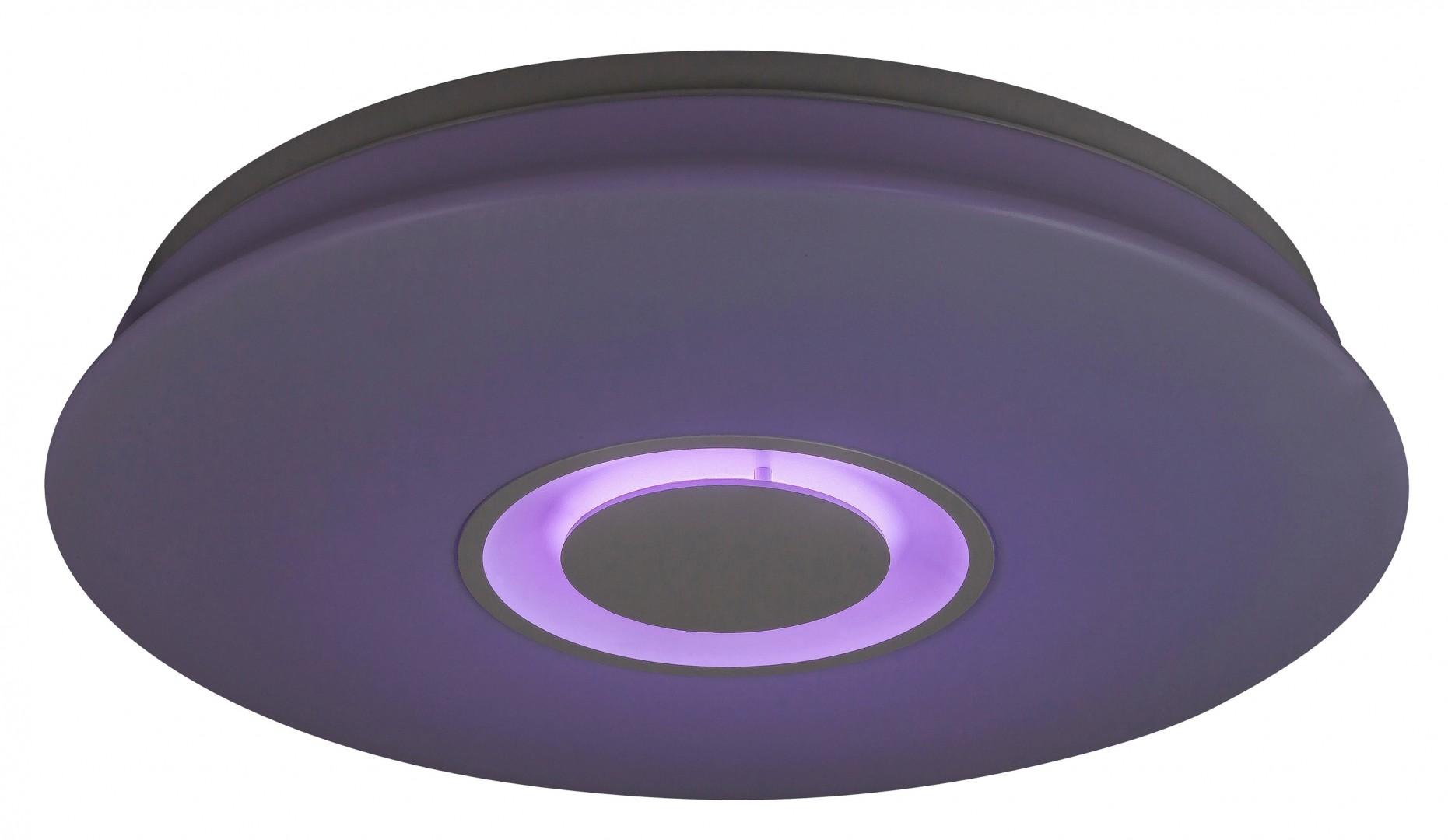 Plafoniere Led Rgb : Corpuri de iluminat plafoniera dimabila cu led rgb si tele