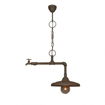 Pendul vintage 1 bec E27 PIPES 77-2250 HOME LIGHTING