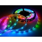Banda led 4.8W/m 12VDC IP65 REN RGB HOROZ