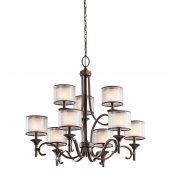 Candelabru clasic 9 becuri E14 Lacey KL/LACEY/9 MB