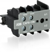 Contact auxiliar frontal 1NO+1NC CAF6-11E ABB
