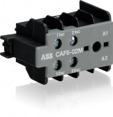 Contact auxiliar frontal 2NC CAF6-02M ABB