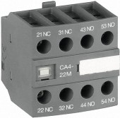Contact auxiliar frontal 2NO+2NC CA4-22M ABB