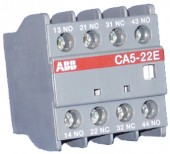 Contact auxiliar frontal 2NO+2NC CA5-22E ABB