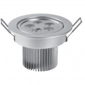 Spot incastrat led aluminiu 5W LED'OR